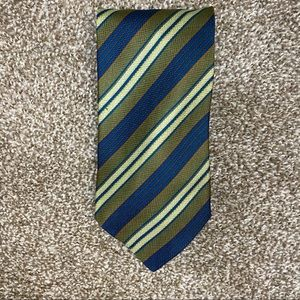 Giorgio Armani Striped Silk Neck Tie